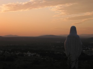 Medjugorje Mary Statue