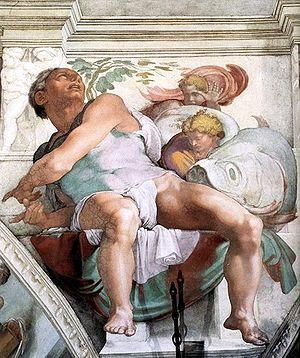 Prophet Jonah (Michelangelo)
