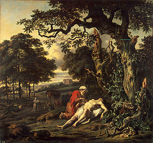 The Parable of the Good Samaritan by Jan Wijna...