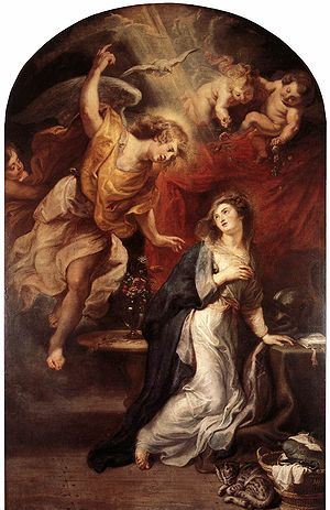 Rubens Annunciation 1628 Antwerp