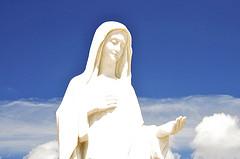Statue of Virgin Mary in Medjugorje - Bosnia H...