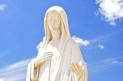 Statue Virgin Mary Medjugorje - Hotel Pansion ...