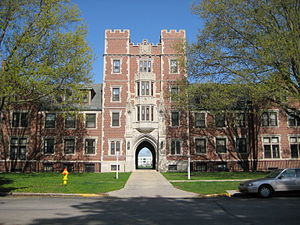 Grinnell College Gates Tower