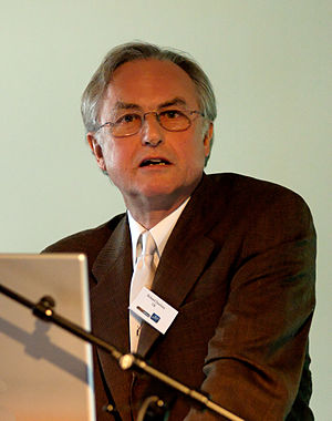 Richard Dawkins giving a lecture based on his ...