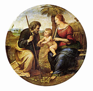 Holy Family by Raphael, 1506.