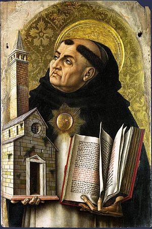 The fifth of Thomas Aquinas' proofs of God's e...