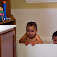 Bath Time!  — Mary's Rosary Promise #9