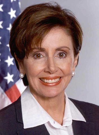 Nancy Pelosi, Representative from California.