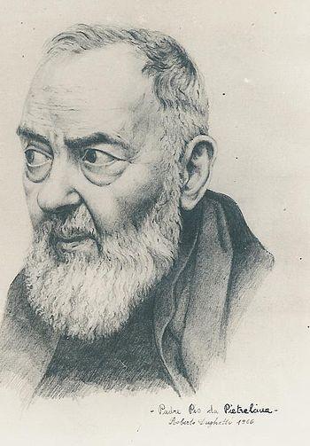 "Saint Padre Pio stated: ""Through the stud..."