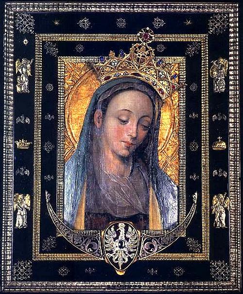 Crowned Madonna, Rokitno, Poland, 1671
