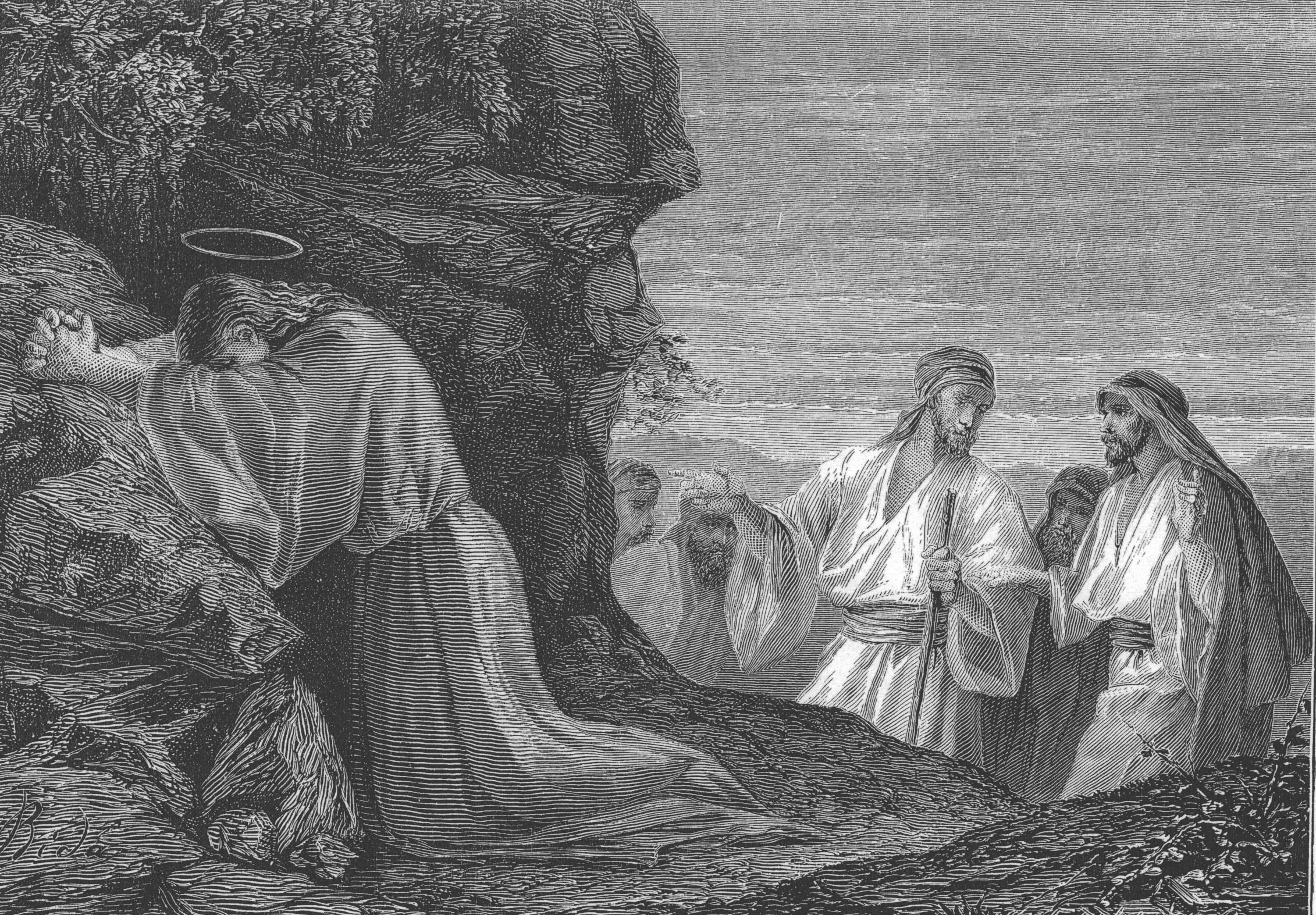 Jesus in Pray