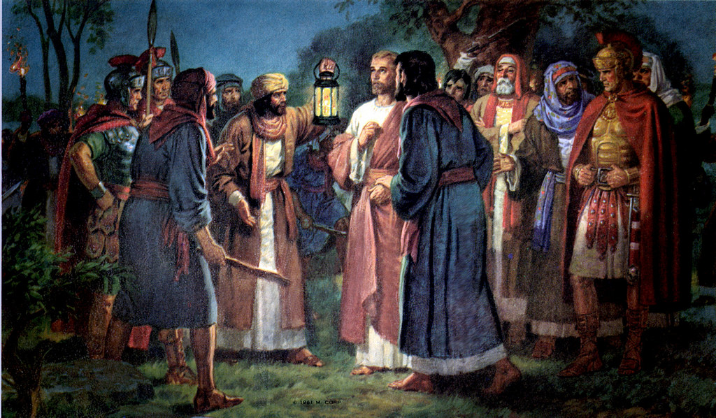 What the Rosary Tells Us About Judas' Betrayal