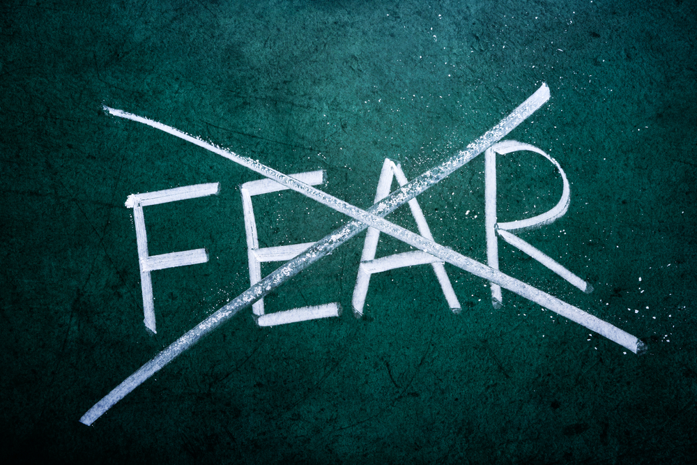 God Didn't Create Us to Live in Fear